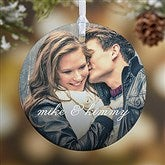 1-Sided You & I Personalized Photo Ornament- Small - 15140-1