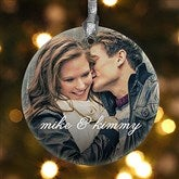 1-Sided You & I Personalized Photo Ornament - 15140-1
