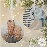 2-Sided You & I Personalized Photo Ornament- Large - 15140-2L