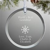 Create Your Own Round Personalized Ornament - 15150