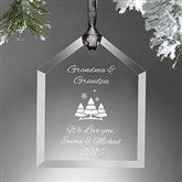 Create Your Own House Personalized Ornament - 15151
