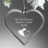 Create Your Own Heart Personalized Ornament - 15152