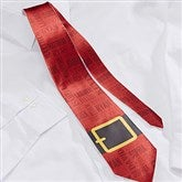 Santa's Belt Personalized Men's Tie