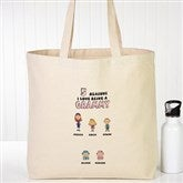 Her Reasons Why Personalized Canvas Tote - 15165