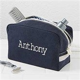 Classic Canvas Embroidered Name Travel Case - 15172-N