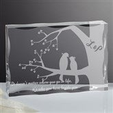 Love Birds Personalized Keepsake - 15189
