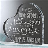 Love Quotes Personalized Keepsake - 15190