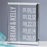 Milestone Personalized Paperweight Keepsake - 15193