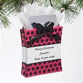 Shop-a-holic© Personalized Ornament & Gift Card Holder