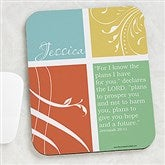Inspirational Faith Personalized Mouse Pad - 15204