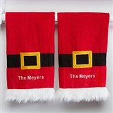 Personalized Santa Kitchen Towel Set - 15211