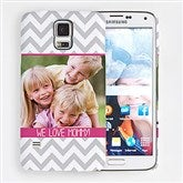 Picture Perfect Chevron Samsung Galaxy S5 Personalized Cell Phone Hardcase - 15215