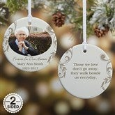 2-Sided In Loving Memory Personalized Memorial Photo Ornament - 15250-2