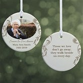 Personalized Photo Memorial Christmas Ornament - In Loving ...