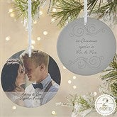 2-Sided Photo Sentiments Personalized Ornament-Large - 15254-2L