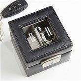 Monogram Leather 2 Slot Watch Box - 15257