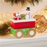Santa's Village Personalized Mantel Figurine- Snowman - 15274-S