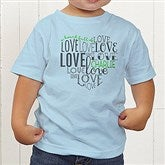 A Heart Full Of Love Personalized Toddler T-Shirt - 15300-TT