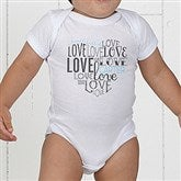 A Heart Full Of Love Personalized Baby Bodysuit - 15300-CBB
