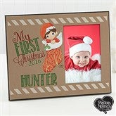 Precious Moments® Personalized Stocking Christmas Frame - 15306