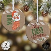 Precious Moments® Personalized Stocking Ornament - 15308