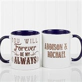 Love Quotes Romantic Personalized Coffee Mug 11oz.- Blue - 15316-BL