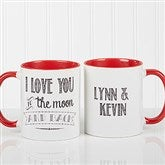 Love Quotes Romantic Personalized Coffee Mug 11oz.- Red - 15316-R