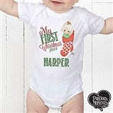 Precious Moments® Personalized Stocking Baby Bodysuit - 15318-CBB