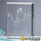 SmileyWorld® Personalized Love Keepsake - 15319