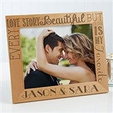 Love Quotes Personalized Picture Frame- 8 x 10 - 15322-L