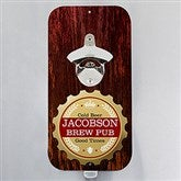 Premium Brew Personalized Magnetic Bottle Opener - 15325