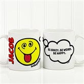 SmileyWorld® Emotion Personalized Mug- 11 oz. - 15327-S