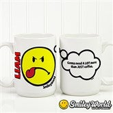 SmileyWorld® Emotion Personalized Mug- 15 oz. - 15327-L