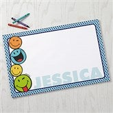 SmileyWorld® Personalized Drawing Pad- 11x17 - 15328-L