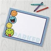 SmileyWorld® Personalized Drawing Pad- 8.5x11 - 15328-S