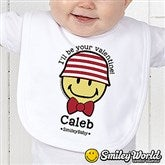 SmileyBaby® Personalized Love Bib - 15330-B