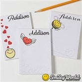 SmileyWorld® Love Notes Personalized Mini Notepads Set of 3 - 15333