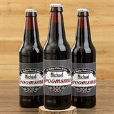 Groomsman Personalized Beer Bottle Labels - 15338