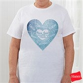 We Love You to Pieces Personalized Hanes® T-Shirt - 15365-T