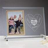 Together We Make A Family Engraved Reflections Frame - 15369