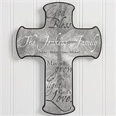 Grow In God's Love Personalized Cross - 15386