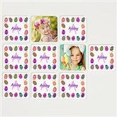 Colorful Eggs Personalized Photo Memory Game - 15387