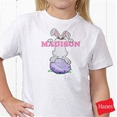Bunny Love Personalized Hanes® Youth T-Shirt - 15391-YCT