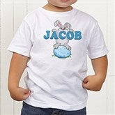 Bunny Love Personalized Toddler T-Shirt - 15391-TT