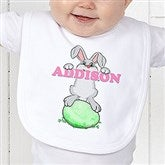 Bunny Love Personalized Bib - 15391-B