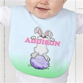 Bunny Love Personalized Baby Bib - 15391-B