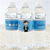 I'm The Communion Boy Personalized Water Bottle Labels - 15401