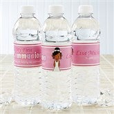 I'm The Communion Girl Personalized Water Bottle Labels - 15402