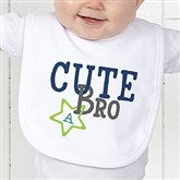 Big/Mid/Lil Sibling Personalized Bib - 15406-B