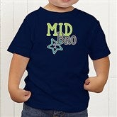 Big/Mid/Lil Sibling Personalized Toddler T-Shirt - 15406-TT